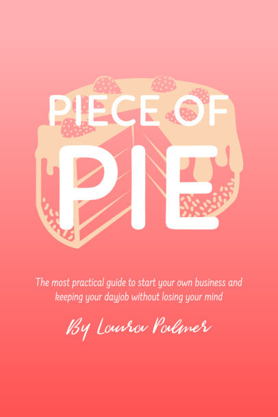 Book Cover Maker - Graphic Behind Title and Text a410