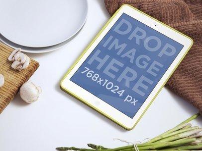 Using iPad Mini While Cooking