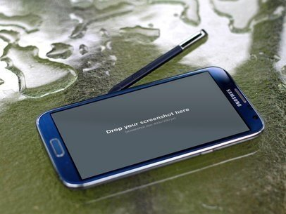 Samsung Galaxy Note Dropped Water