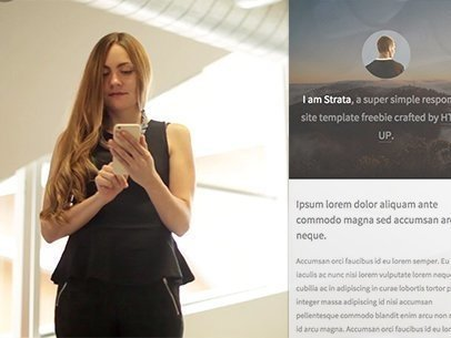 Businesswoman at an Industrial Site App Demo Video a8075