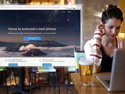 Woman at a Bar Having a Drink Macbook App Demo Video a8509